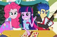 Безделье Девушек - Equestria Naughty School Day