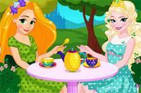 Чаепитие Принцесс - Disney Princess Tea Party