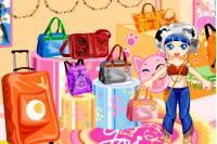 Делаем Магазин Сумок - Bag Shop Decoration
