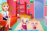 День Благодарения Хейзел - Baby Hazel Thanksgivin Fun