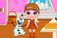 День Благодарения 2 - Baby Elsas Thanksgiving