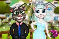 День Свадьбы Котов - Tom аnd Angela Wedding Day