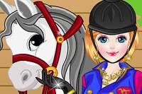 Девушка и Лошадь - Girl with Horse Dress Up