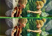 Феи Динь Динь: 8 Отличий - Tinkerbell Spot 8 Difference