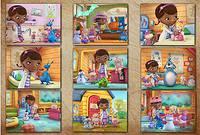 Доктор Плюшева: 9 Пазлов - Doc McStuffins Jigsaw Puzzle