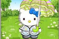 Дождливый День - Hello Kitty Raining Day