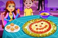 Джек Готовит Пиццу - Jack O Lantern Pizza