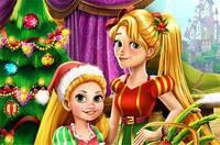 Елка Мамы и Дочери - Rapunzel Mommy Christmas Tree