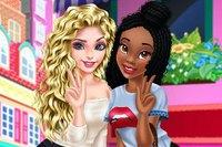 Эльза и Тиана - Elsa аnd Tiana BFFs