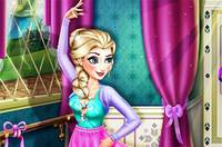 Эльза Балерина - Elsa Ballet Rehearsal