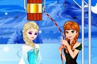 Эльза Бросает Вызов - Elsas Ice Bucket Challenge