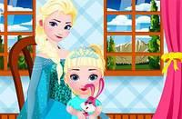 Эльза - Сиделка - Elsa Queen Nurse Baby