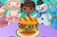 Гамбургер для Доктора Плюшевой - McStuffins Hamburger