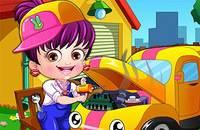 Хейзел Механик - Baby Hazel Mechanic Dressup