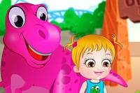 Хейзел и Динозавры - Baby Hazel Dinosaur Park