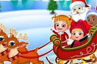 Хейзел и Новый Год - Baby Hazel Christmas Surprise