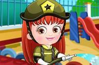 Хейзел Пожарник - Baby Hazel Firefighter Dress