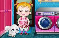 Хейзел Стирает Одежду - Baby Hazel Laundry Time