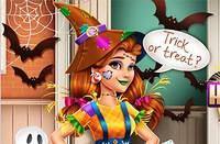 Наряд Виктории - Victorias Halloween Scarecrow Costume
