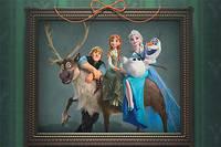 Холодное Сердце: Картина для Эльзы