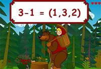 Интересная Математика с Машей и Медведем