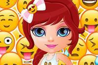 Какая Твоя Эмоция? - Baby Barbie Which Emoji Are You?