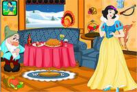 Комната к Благодарению - Snow White Thanksgiving Room Decor