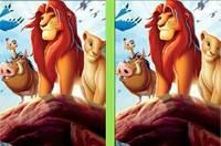 Король Лев: Отличия - The Lion King Spot The Difference