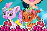 Королевские Питомцы - Baby Barbie My Palace Pets