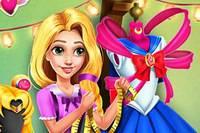 Косплей Рапунцель - Rapunzel Sailor Moon Cosplay