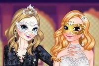 Костюмы Сестер - Frozen Sisters Masquerade