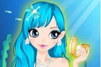 Красивая Русалка - Mermaid Make Up