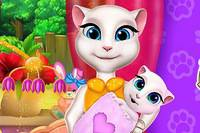 Кроватка Малыша - Talking Angela Baby Crib Decor