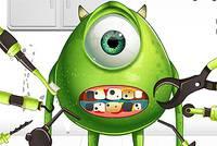 Лечить Зубы Монстру - Monster Eye Tooth Promblems