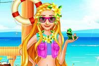 Летний Образ Рапунцель - Rapunzel Summer Break