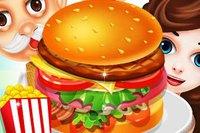 Магазин Вкусных Бургеров - Burger Cooking Food Shop