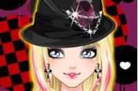 Макияж Эмо 2 - Glam Punk Make up