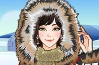 Макияж Эскимоса - Eskimo Girl Makeup