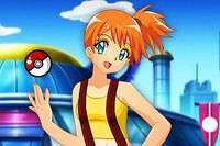 Макияж Мисти - Misty Pokemon Makeup