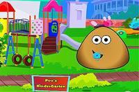 Малыш Поу в Детском Саду - Baby Pou Kindergarten
