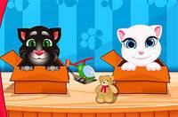 Анжела и Том - Talking Angela And Tom Cat Babies