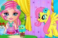 Малышка Барби и Пони 2 - Baby Barbie Little Pony 2