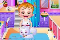 Малышка Хейзел: Уход за Щенком - Baby Hazel Puppy Care