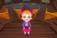 Малышка Хейзел в Замке - Baby Hazel Halloween Castle