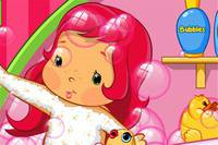 Земляничка в Ванной - Baby Strawberry Shortcake
