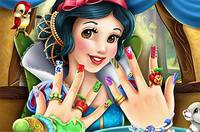 Маникюр Белоснежки - Snow White Nails