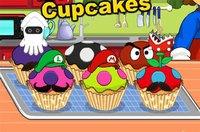 Марио Готовит Кексы - Mario Mushroom Cupcake