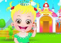 Наряди Принцессу Хейзел - Baby Hazel Princess Dress Up
