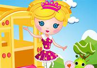 Наряди в Школу Куклу- Little Lea Loopsy Goes To School