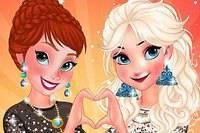 Неотразимые Леди - Anna аnd Elsa Girls Night Out